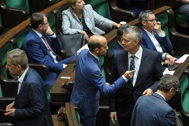 Borys Budka i Tomasz Siemoniak, główni kandydaci w wyborach na szefa PO.