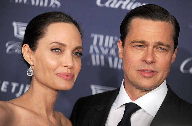 Angelina Jolie rozwodzi się z Bradem Pittem