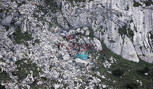 Turyści wtargnęli do jaskini Wielkiej Śnieżnej podczas akcji ratunkowej