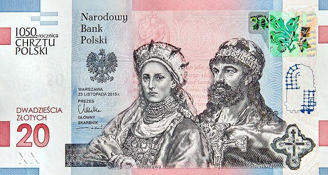20 zł najlepsze na świecie. Polski banknot z prestiżową nagrodą