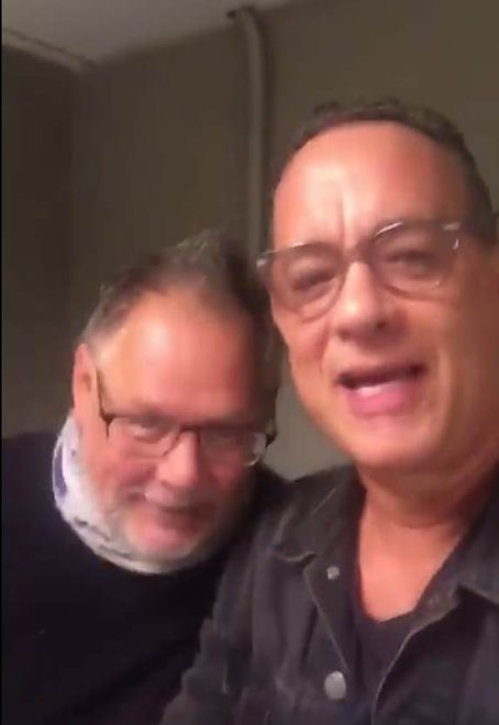 Janusz Kamiński i Tom Hanks