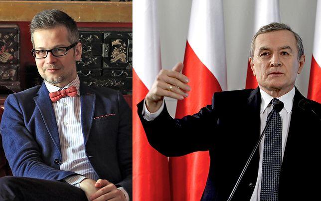 Jacek Dehnel nie szczędzi ironicznych słów ministrowi kultury