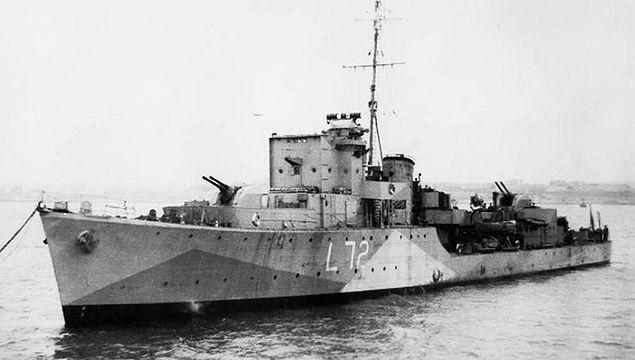 Wrak okrętu ORP Kujawiak odnaleziony