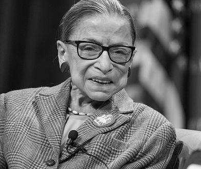 Ruth Bader Ginsburg nie żyje. Była ikoną amerykańskiego sądownictwa