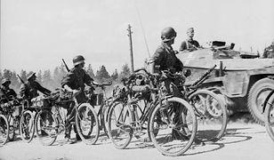 Wehrmacht na rowerach