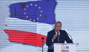 Grzegorz Schetyna podczas konwencji Koalicji Obywatelskiej