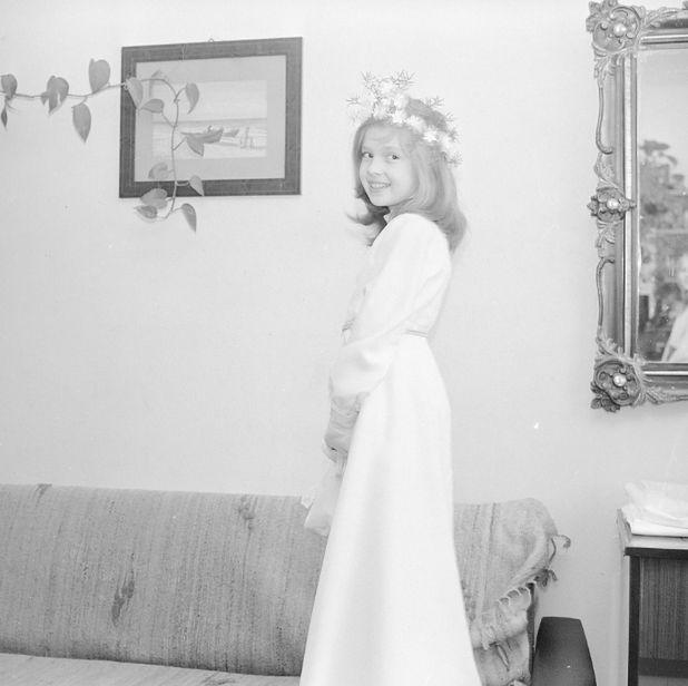 Moda komunijna lat 80. ubiegłego wieku to prostota i elegancja