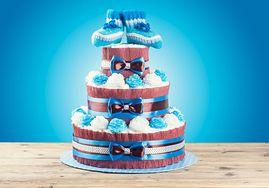 Tort z pampersów - na jakie okazje, zrób go sam, kształty, cena