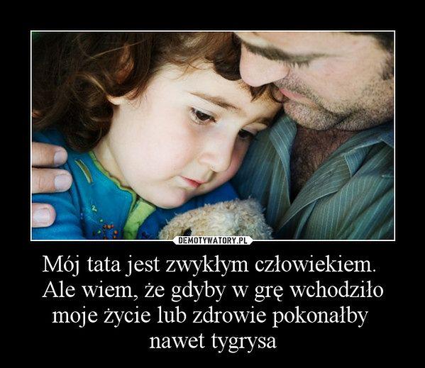 Dziękuję tato!