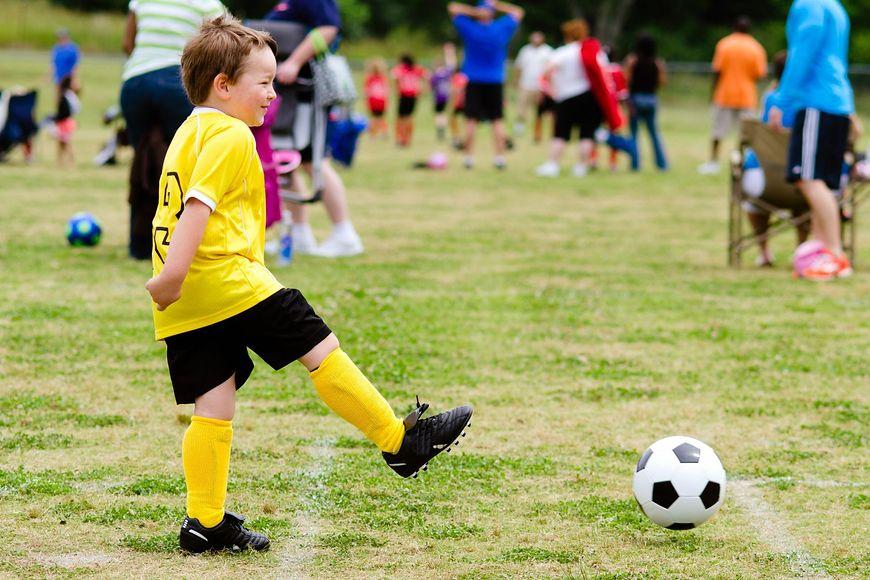 Kontuzje podczas uprawiania piłki nożnej