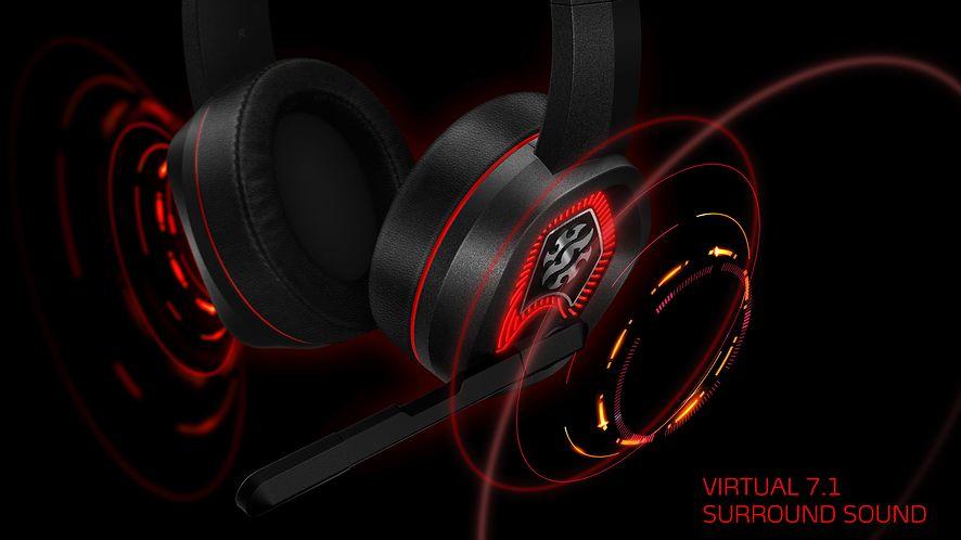 ADATA pokazuje nowe słuchawki dla graczy, fot. materiały prasowe