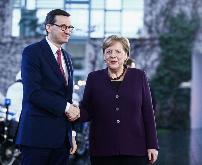 """O tym, że gaz z Nord Stream 2 """"nie jest gorszy"""" mówiła w tym tygodniu kanclerz Niemiec. (Photo by Abdulhamid Hosbas/Anadolu Agency via Getty Images)"""