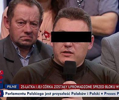 Marek M. był przedstawiany w mediach jako policyjny mediator