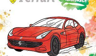 Ferrari. Wodne kolorowanie