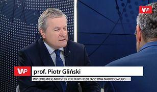 """Na miły Bóg!"". Piotr Gliński odpowiada Agnieszce Holland"