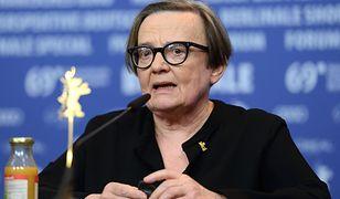 Agnieszka Holland promuje nowy film dotyczący reżimu stalinowskiego