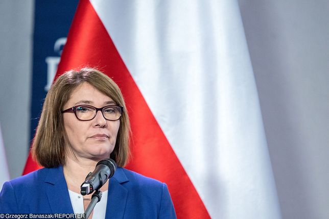 Beata Mazurek odpowiada Markowi Belce