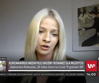 Aleksandra Rutkowska z PCPM ma koronawirusa. Musiała wezwać pogotowie