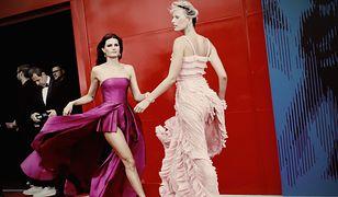 Spektakularny przemarsz po czerwonym dywanie w Wenecji. Karty rozdawał wiatr