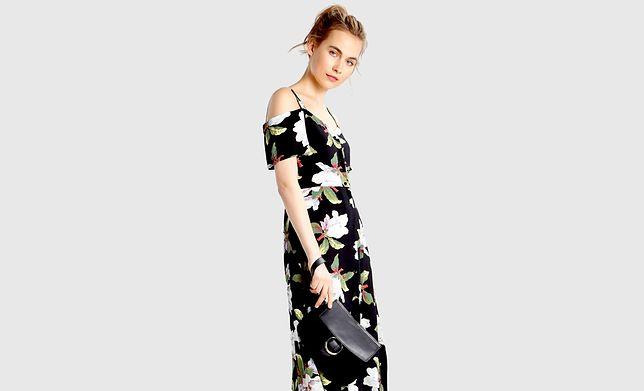 Sukienka midi to idealny wybór na letni spacer