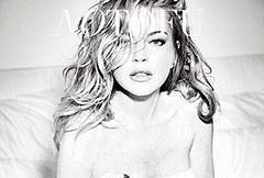 """Lindsay Lohan na okładce pisma """"No Tofu"""""""