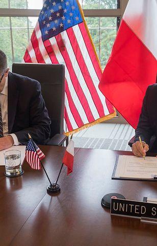 Polska i USA podpisały porozumienie