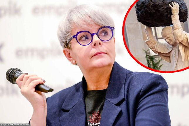 """Karolina Korwin Piotrowska pokazuje memy z Janem Pawłem II. """"Zaczęło się"""""""