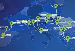 Pociąg odwiedzi 26 europejskich krajów. Zawita również do Polski