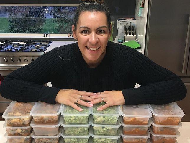 Simone Harbinson i jej domowa dieta pudełkowa