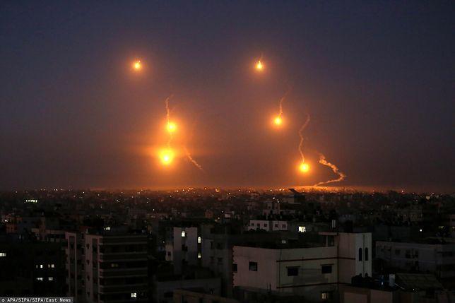 Atak rakietowy z Libanu. Izrael odpowiada