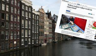 """""""Polacy coraz częściej szukają pracy we własnym kraju"""" - to tytuł z największej gazety w Holandii"""