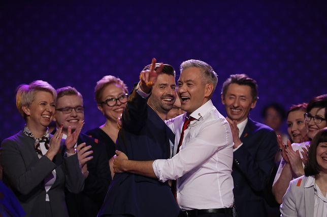 Robert Biedroń ogłosił nazwę swojej partii podczas konwencji w Warszawie