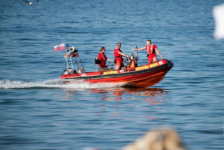 Tragedia na plaży w Sopocie. Nie żyje wczasowicz