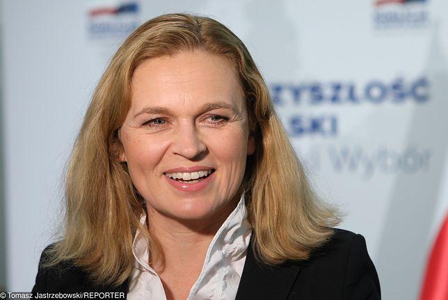 Barbara Nowacka, przewodnicząca Inicjatywy Polskiej