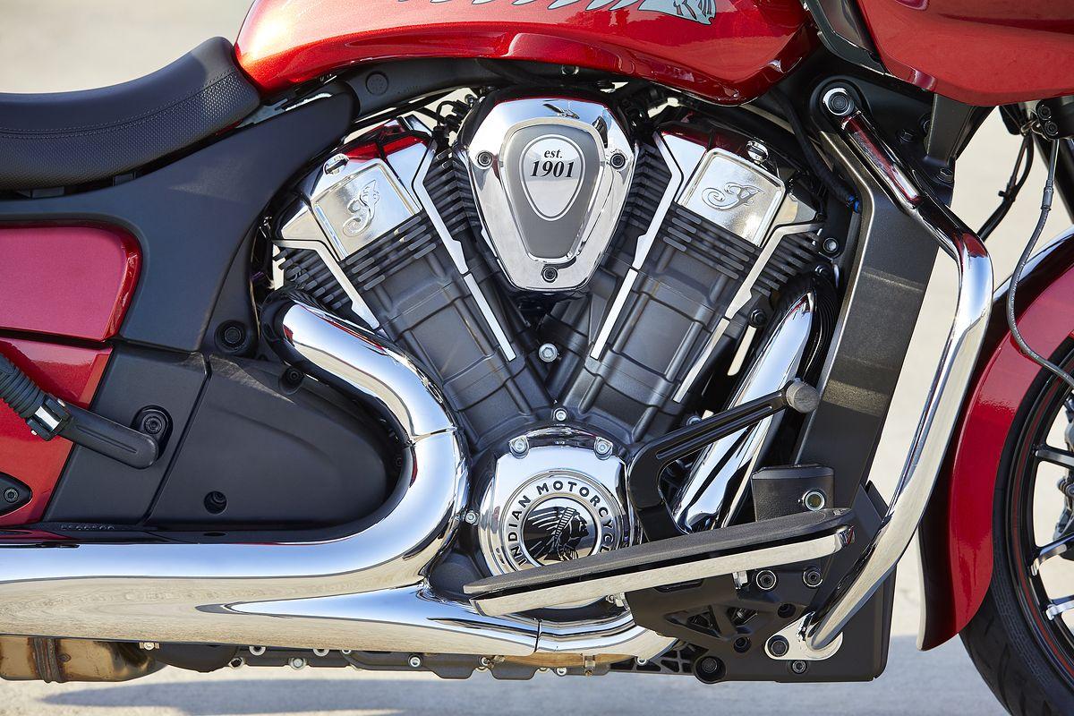 Indian Chellenger z silnikiem PowerPlus
