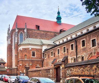Fragment muru otaczał miasto Kazimierz - obecnie dzielnicę Krakowa
