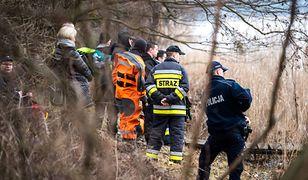 Bielsko-Biała. Rzeka zanieczyszczona. Strażacy ustawili zapory