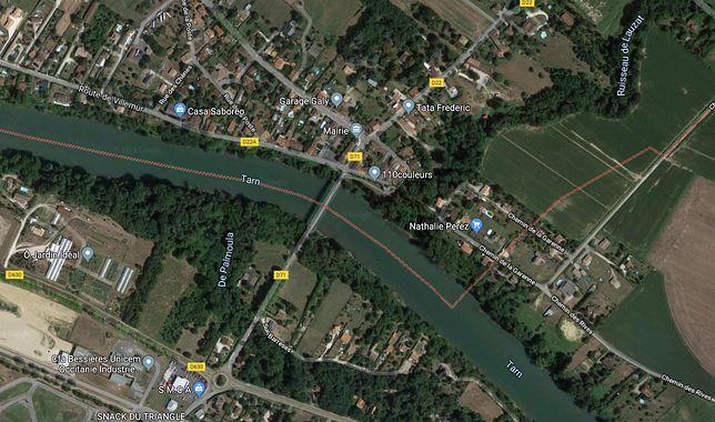 Francja. Zawalił się most na rzece Tarn