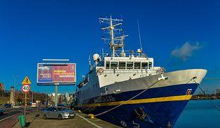 Zmarł załogant statku Akademii Morskiej w Szczecinie
