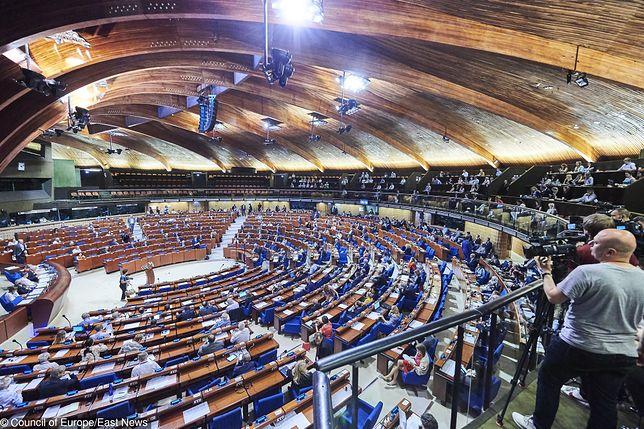 Rosja niedawno odzyskała możliwość głosowania w Radzie Europy