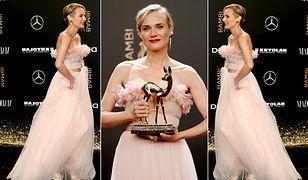 LOOK OF THE DAY: Diane Kruger cała w baśniowym różu