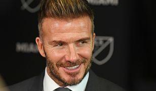 David Beckham zaskoczył fanów. Piłkarz pokazał zdjęcie z dzieciństwa.