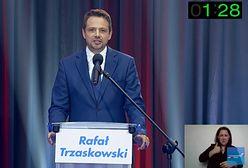 Rafał Trzaskowski ignorował niewygodne pytania. Dziennikarze dopytywali bez skutku