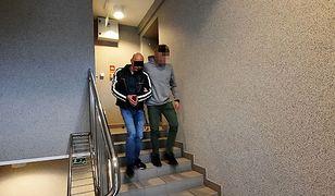 Warszawa. Próbował wymusić zwrot rzekomych należności granatami i pistoletem