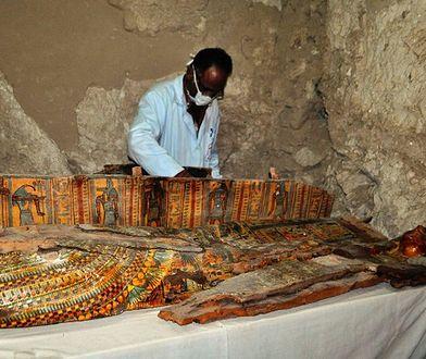Kolejna tajemnica Egiptu odkryta. Znaleziono mumie, które liczą 3,5 tys. lat