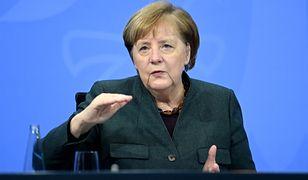 Koronawirus. Niemcy: kanclerz Angela Merkel podczas rozmowy z rządami krajów związkowych
