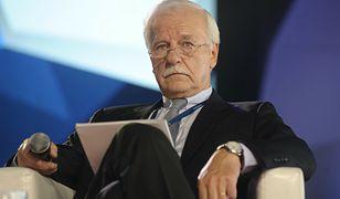 Andrzej Olechowski - jeden z twórców Platformy Obywatelskiej (zdj. arch.)