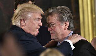 Donald Trump wydał ostatnią decyzję. Ponad 70 osób ułaskawionych: Steve Bannon na liście