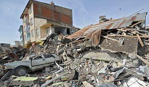 Silne trzęsienie ziemi w Turcji.