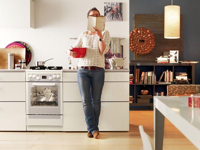 Mastercook KGE 3495 B FUT - biała kuchnia gazowa